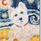 West Highland Terrier Art Banner - Van Growl  (Westie)