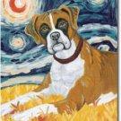 Boxer Art Banner - Van Growl