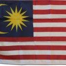 """Malaysia - 12""""""""X18"""""""" Nylon Flag"""