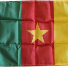 "Cameroon - 12""""X18"""" Nylon Flag"