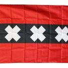Amsterdam - 3'X5' Polyester Flag