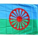 Romani - 3'X5' Polyester Flag