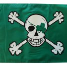 "Blarney Bones - 12""""X18"""" Pirate Flag"