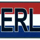 Netherlands - European License Plate (Nederland)