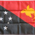 "Papua New Guinea - 12"""" x 18"""" Nylon Flag"