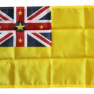 "Niue - 12"""" x 18"""" Nylon Flag"