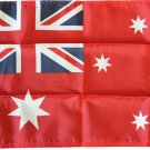 "Australia - 12""""X18"""" Nylon Flag (Red)"