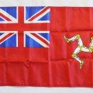 "Isle of Man - 12""""X18"""" Nylon Flag (Red Ensign)"