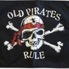 "Old Pirates Rule - 12""""X18"""" Pirate Flag"