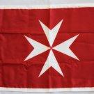 "Malta - 12""""X18"""" Nylon Flag (Red Ensign)"