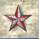 Stars on Star Toland Art Banner