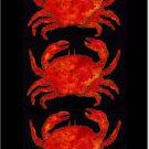 Dungeness Crab Toland Art Banner