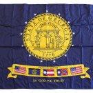 Georgia - 2'X3' Nylon Flag (2001-2003)