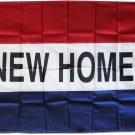 New Homes - 3'X5' Nylon Flag
