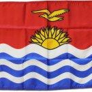 """Kiribati - 12""""""""X18"""""""" Nylon Flag"""