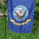 """Navy - 12""""""""x18"""""""" Garden Banner"""