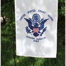 "Coast Guard - 12""""x18"""" Garden Banner"