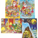 Chocolate Advents Calendar - Schokoladen Adventskalender (Pack of 4)