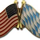 USA - Bavaria Friendship Lapel Pin