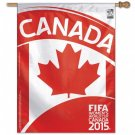"Canada - 27"" x 37"" Country World Cup 2015 Soccer Banner"