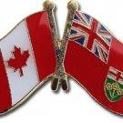 Canada Ontario Friendship Lapel Pin