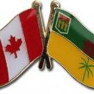 Canada Saskatchewan Friendship Lapel Pin