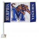 Memphis University Car Flag
