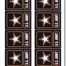 Army 50 Count Sticker Pack