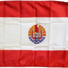 French Polynesia - 2'X3' Nylon Flag