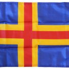 "Aaland Islands - 12""X18"" Nylon Flag"