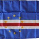 "Cape Verde - 12""X18"" Nylon Flag"