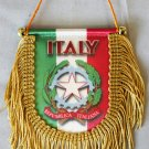 Italy Window Hanging Flag (Shield)