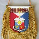 Philippines Window Hanging Flag (Shield)