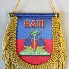 Haiti Window Hanging Flag (Shield)