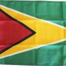 "Guyana - 12""X18"" Nylon Flag"