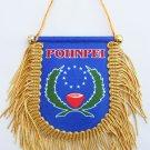Pohnpei Window Hanging Flag (Shield)