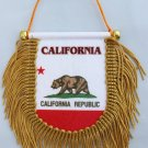 California Window Hanging Flag (Shield)