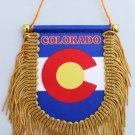Colorado Window Hanging Flag (Shield)