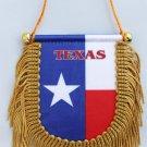 Texas Window Hanging Flag (Shield)
