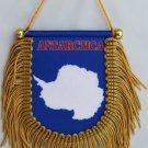 Antarctica Window Hanging Flag (Shield)