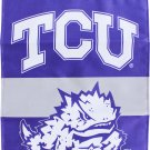 "Texas Christian University (TCU)  - 13""x18"" 2-Sided Garden Banner"