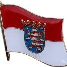 Hesse Flag Lapel Pin