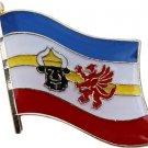 Mecklenburg-Pomerania Flag Lapel Pin