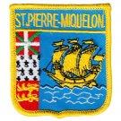 St. Pierre and Miquelon Shield Patch