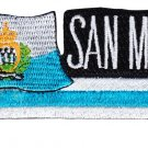 San Marino Cut-Out Patch