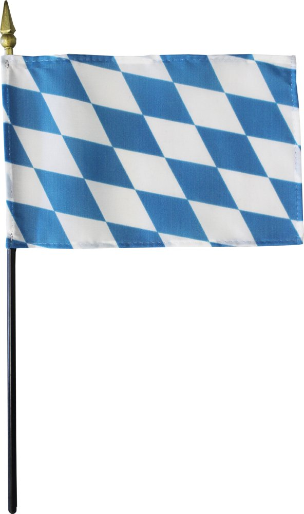 "Bavaria - 4"" X 6"" Stick Flag"