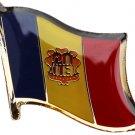 Andorra Flag Lapel Pin