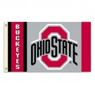 Ohio State - 3' x 5' Polyester Flag