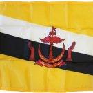 """Brunei - 12""""X18"""" Nylon Flag"""