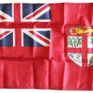 "Fiji (Red) - 12""X18"" Nylon Flag"